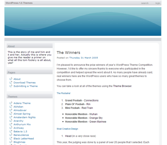 BitNami WordPress Stack for Linux full screenshot