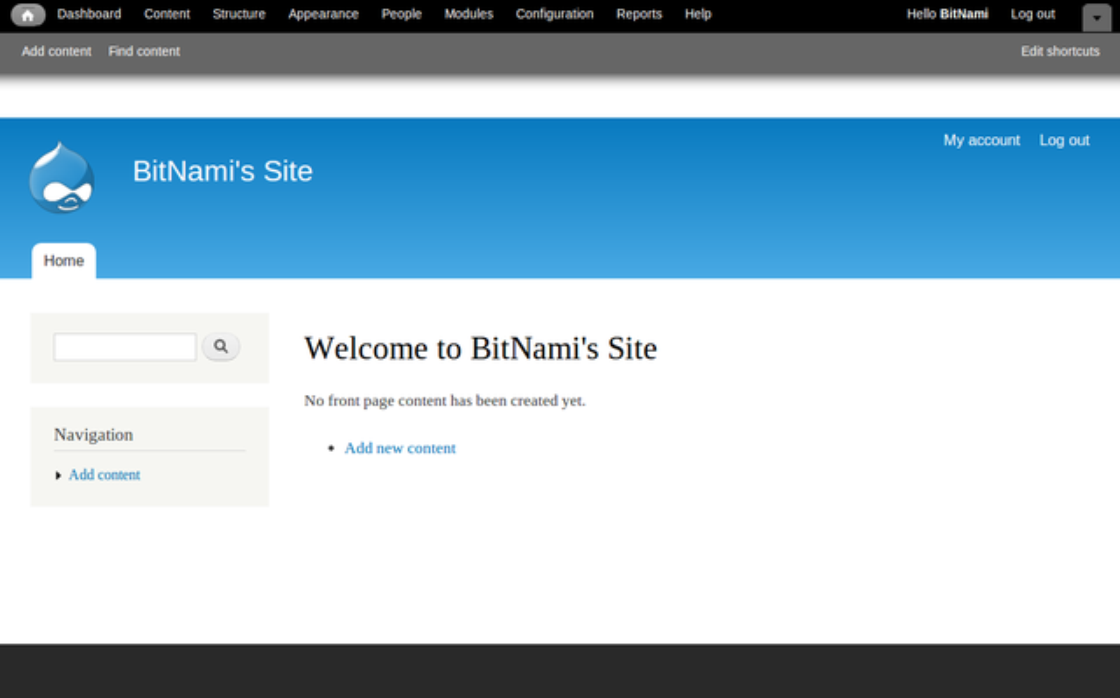 BitNami Drupal Stack 7.9-1 (linux)